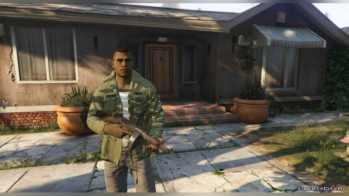Lincoln Clay from MAFIA III for GTA 5 - screenshot #4