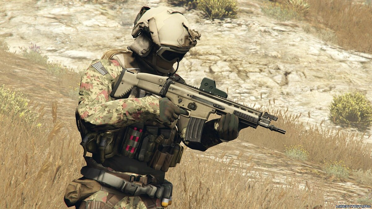 New character Soldier from the game Battlefield 4 for GTA 5