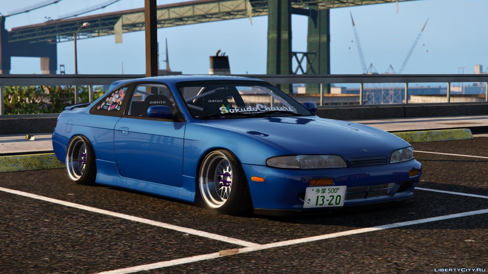 Nissan Silvia S14 Zenki Stance Tuning Template For Gta 5