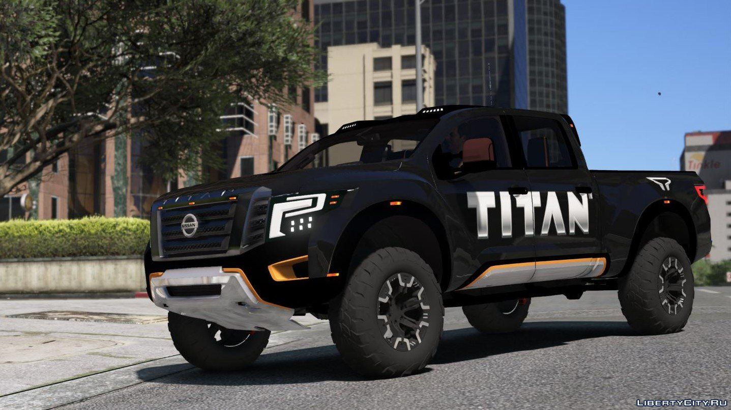 Nissan Titan Warrior 2017 Add On Replace Livery Extras 2 0 For Gta 5