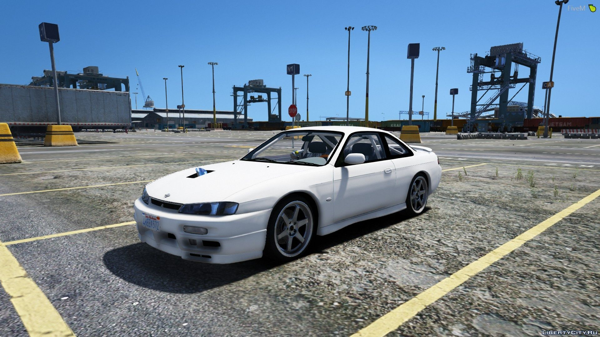 Nissan S14 Street Car [FIVE-M] [REPLACE] 1 0 for GTA 5