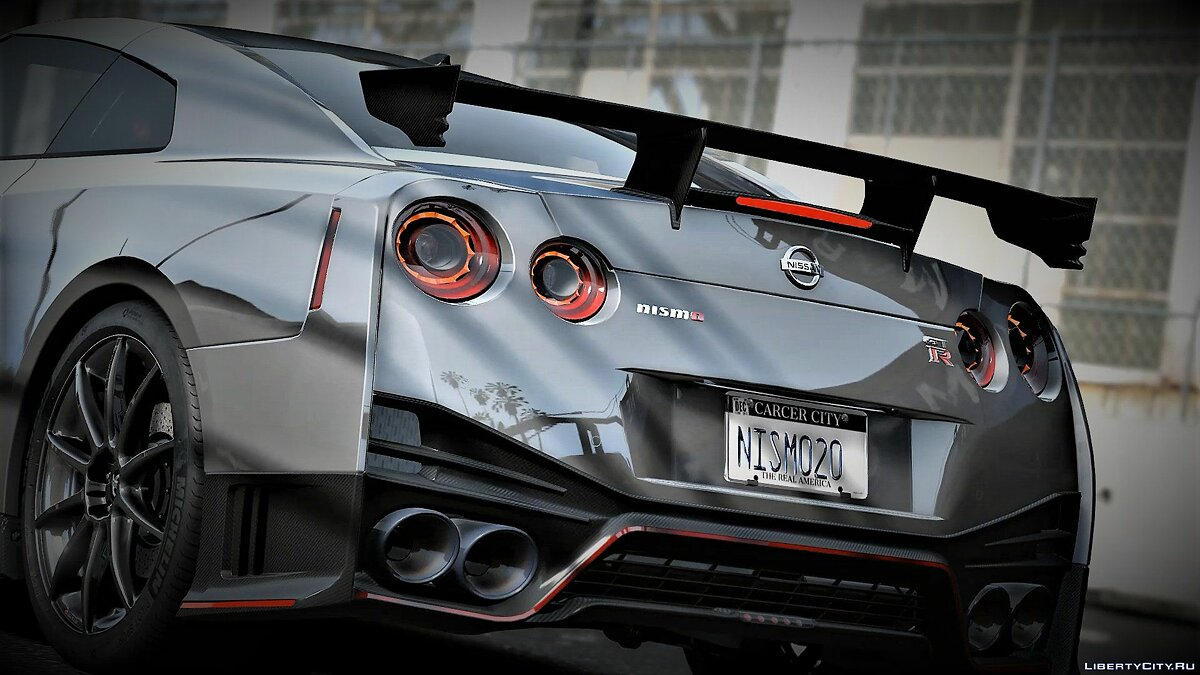 Nissan car 2020 Nissan GT-R Nismo 1.0 [ADD-ON] for GTA 5