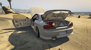 Nissan car Nissan Silvia S15 [Addon] 1.0 for GTA 5