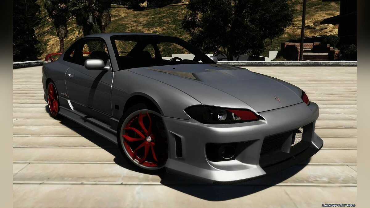 Nissan car Nissan Silvia S-15 Spec-R [Add-On | Tuning | LODS | Template] 1.5 for GTA 5