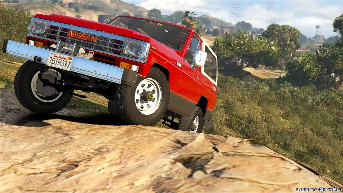 Nissan car Nissan Safari 1985 Turbo AD '[Add-On / Replace | LODs] 1.1 for GTA 5