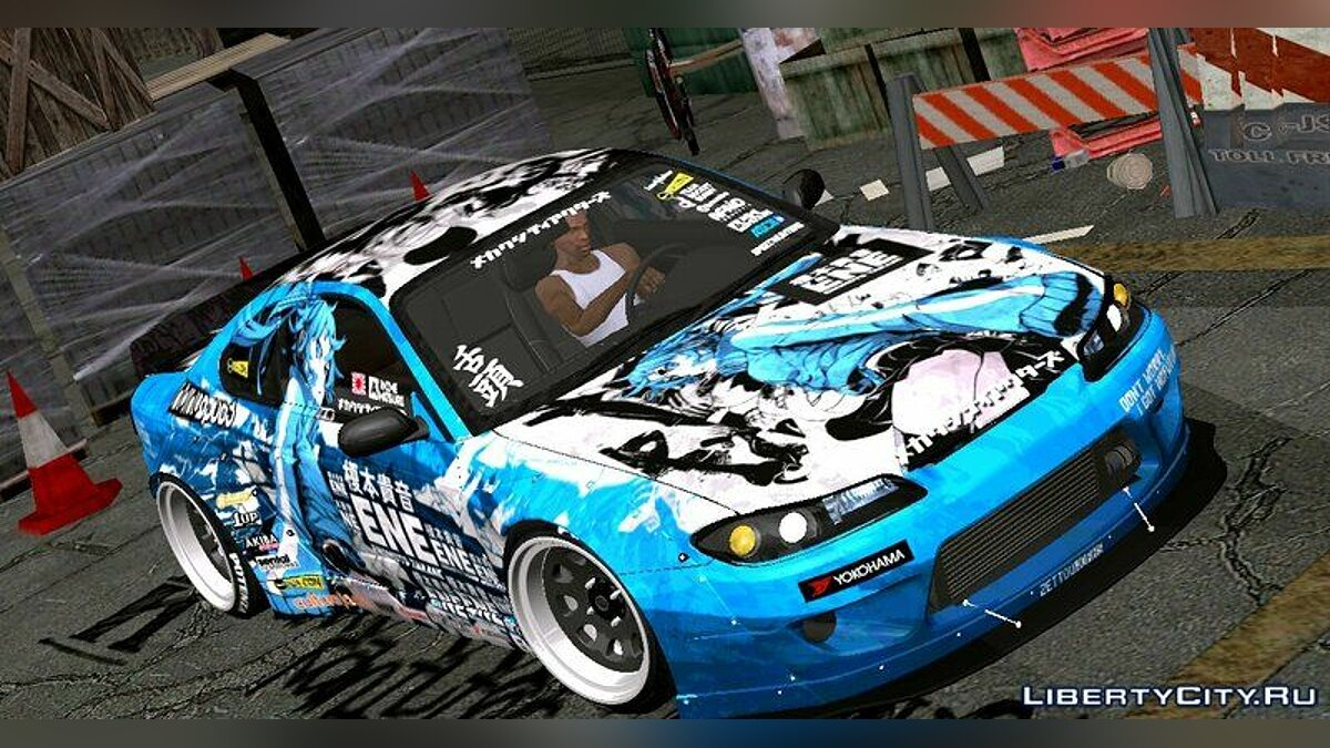 Nissan car Nissan Silvia S15 [RB] Takane for GTA 5
