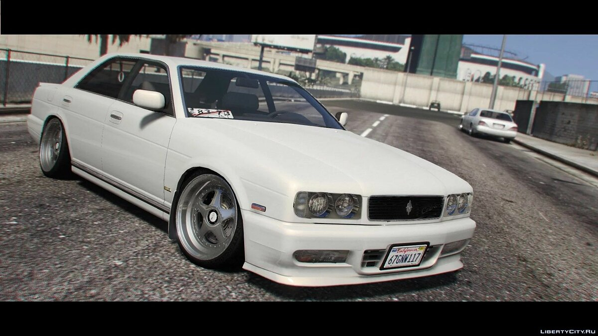 Nissan car 1991 Nissan Cedric Gran Turismo Ultima [Replace] 1.0b for GTA 5