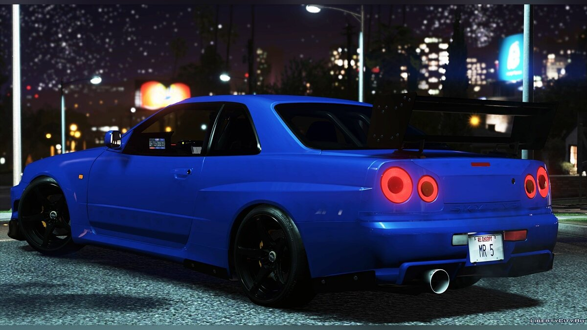 Nissan car Nissan Skyline GT-R 34 Tommy Kaira [Add-On / Replace | Extras | RHD] 1.0 for GTA 5