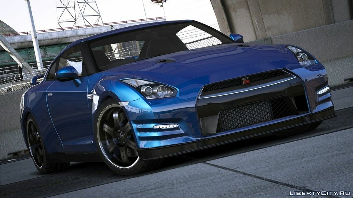 Nissan car Nissan GTR (R35) [Mine's | Varis | Wald | C-West | TopSecret] V1.5 for GTA 5