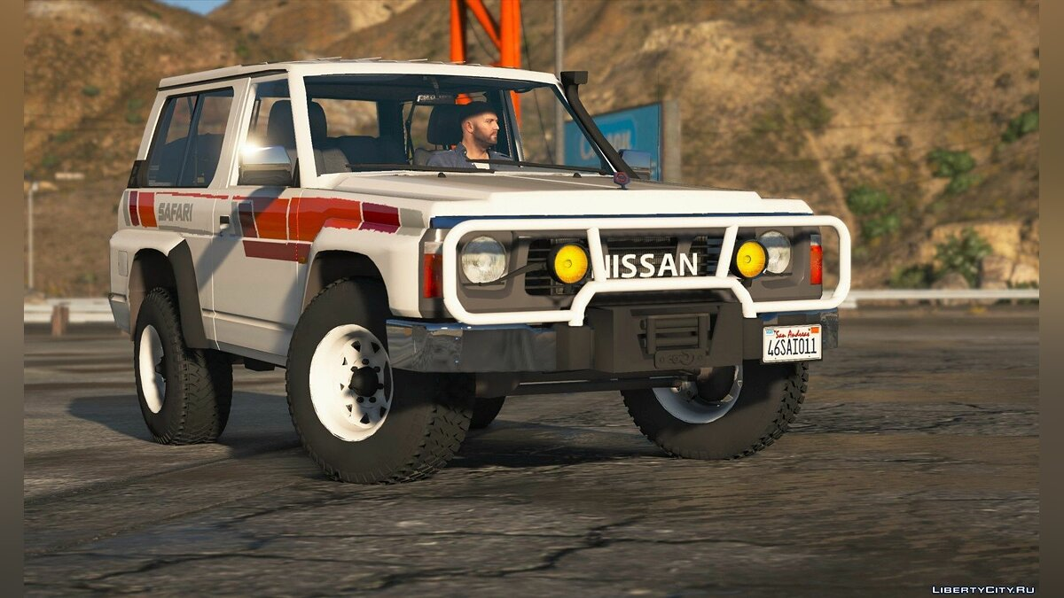 Nissan Patrol Super Safari Y60 1997 SWB [Add-On | Replace | Livery | Extras | Template | Tuning | Dirt] 1.0 for GTA 5 - screenshot #2