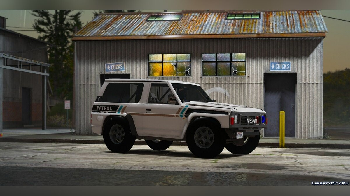 Nissan Patrol Super Safari Y60 1997 SWB [Add-On | Replace | Livery | Extras | Template | Tuning | Dirt] 1.0 for GTA 5 - screenshot #4