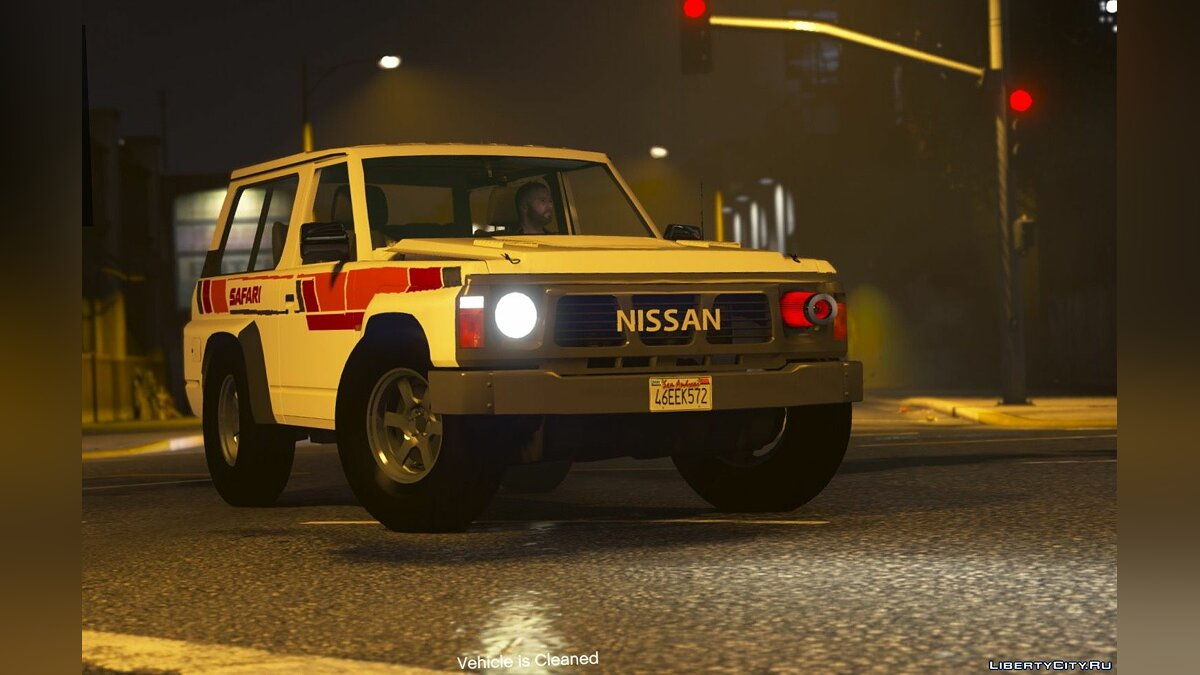 Nissan Patrol Super Safari Y60 1997 SWB [Add-On | Replace | Livery | Extras | Template | Tuning | Dirt] 1.0 for GTA 5 - screenshot #5