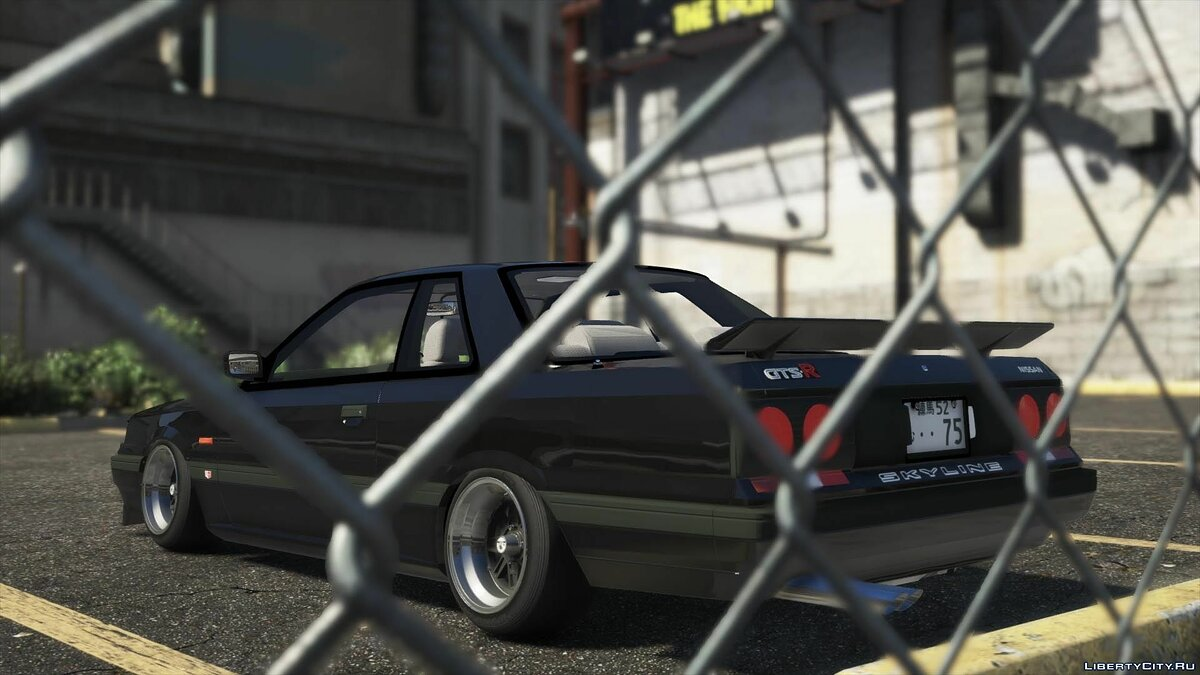 Nissan car Nissan Skyline GTS-R (R31) 1987 [Add-On | Tuning] 1.1 for GTA 5
