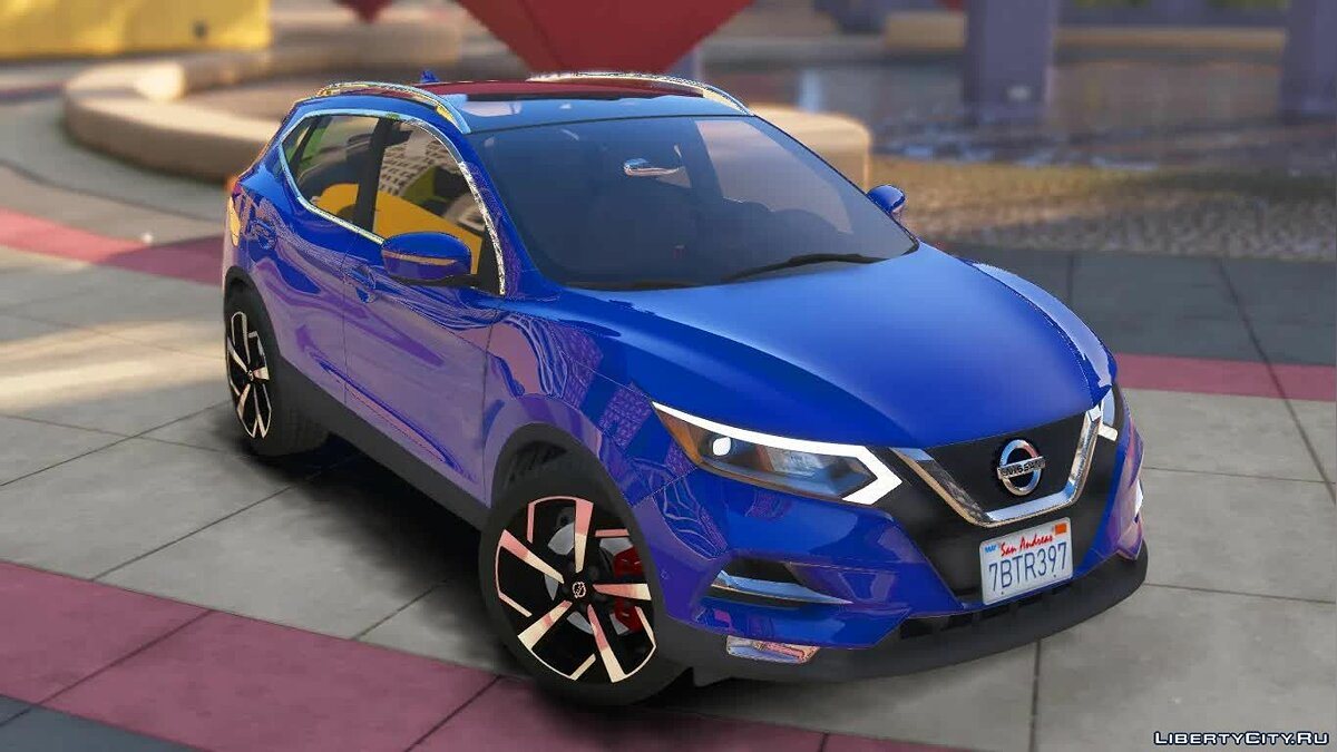 Nissan car Nissan Rogue Sport SL FWD 2020 [Add-On] (Patreon Request) 0.2 for GTA 5