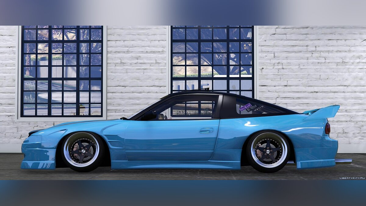 Nissan car Nissan 180sx 2JZ [Add-On / Replace] 1.0 for GTA 5