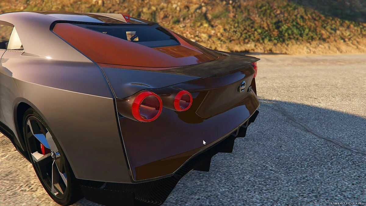 Nissan car Italdesign Nissan GT-R50 2020 [Add-On / Replace] 1.0 for GTA 5