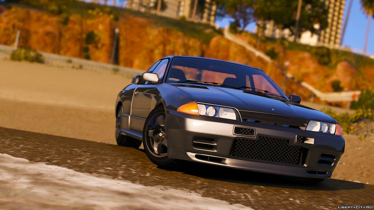 Nissan car Nissan Skyline R32 [Add-On | Extras | Tuning] 1.0 for GTA 5