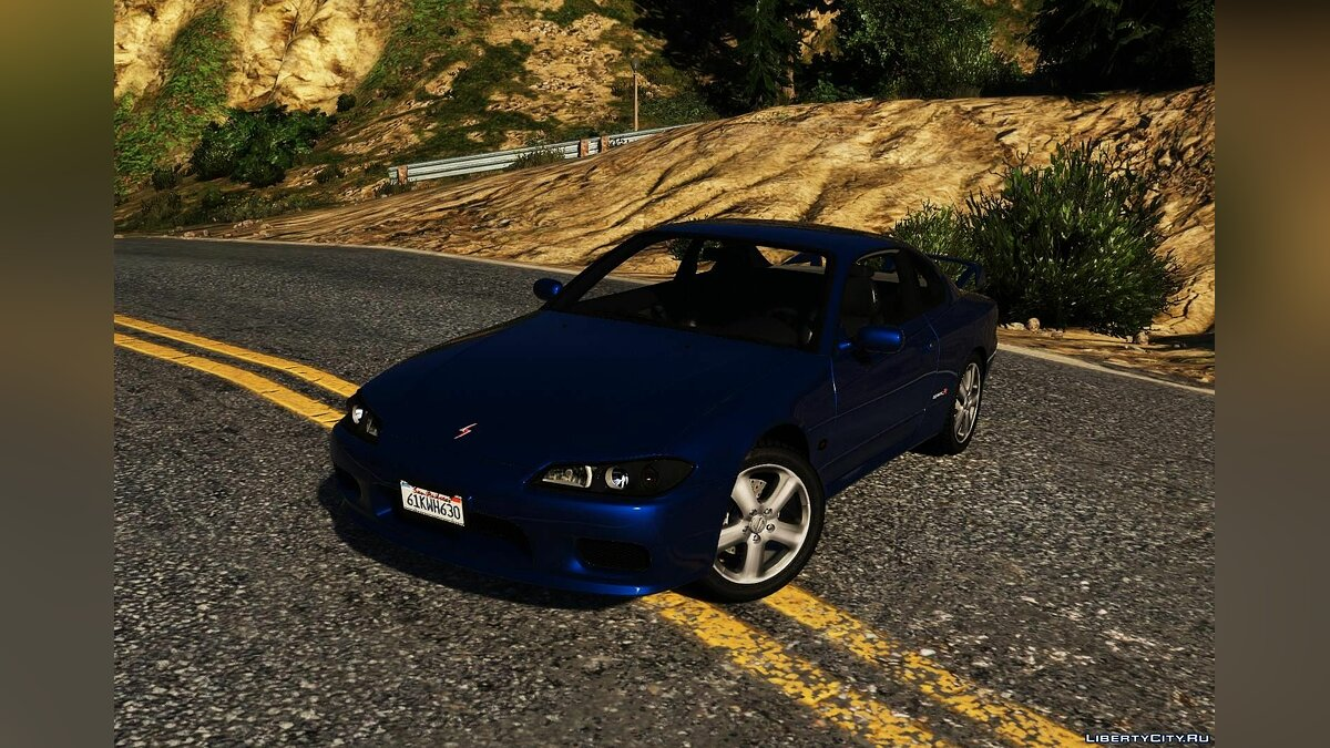 Nissan car Nissan Silvia S-15 Spec-R [Add-On | Tuning | LODS | Template] 1.0 for GTA 5