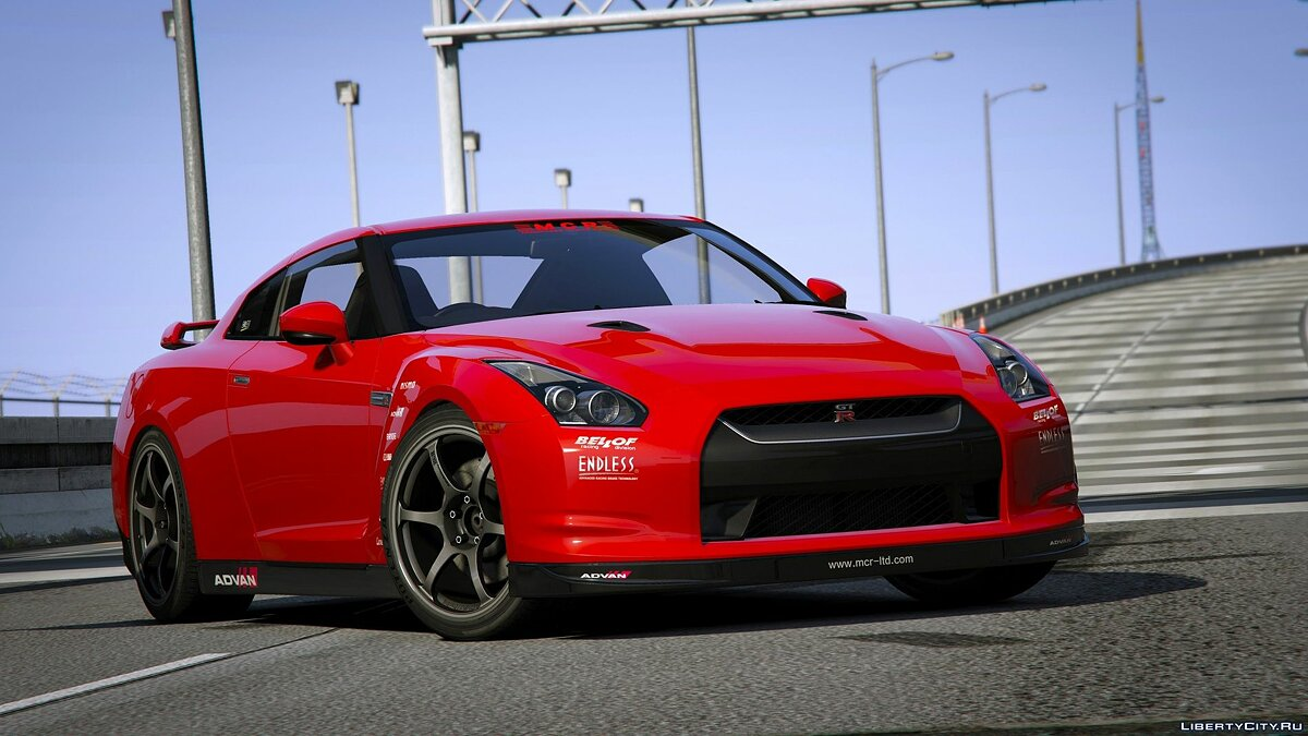 Nissan car Nissan GTR (R35) [Mine's | Varis | Wald | C-West | TopSecret] V1.51 for GTA 5