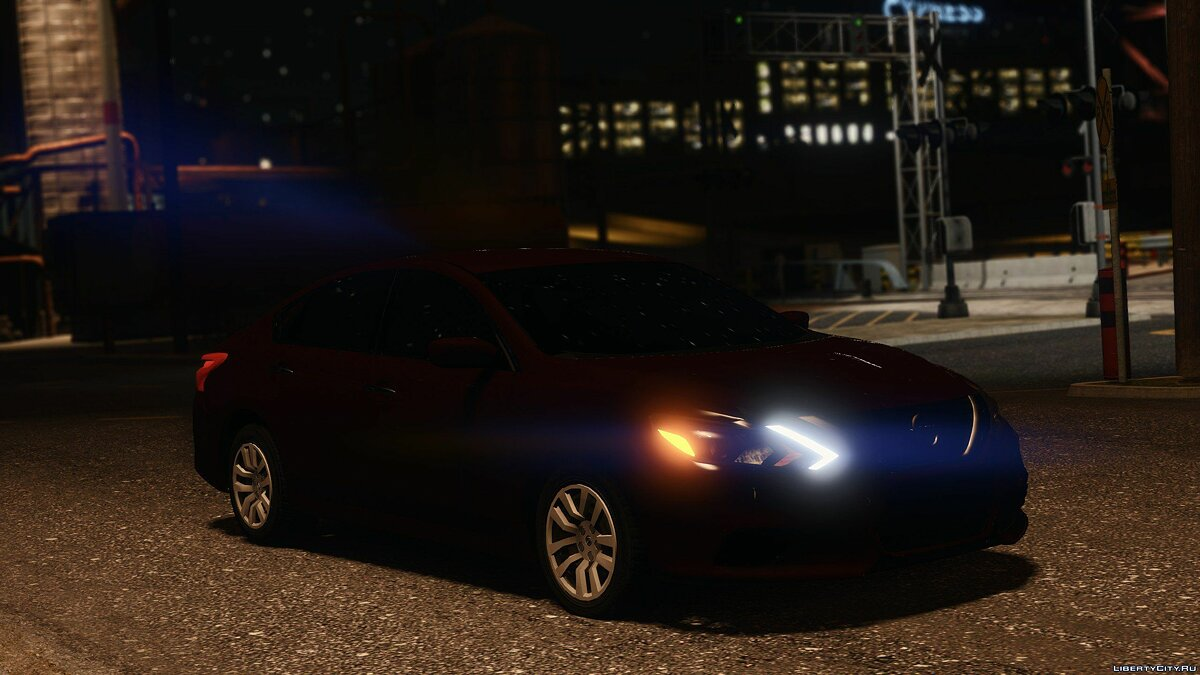 Nissan car 2017 Nissan Altima [Replace] HQ 1.0 for GTA 5