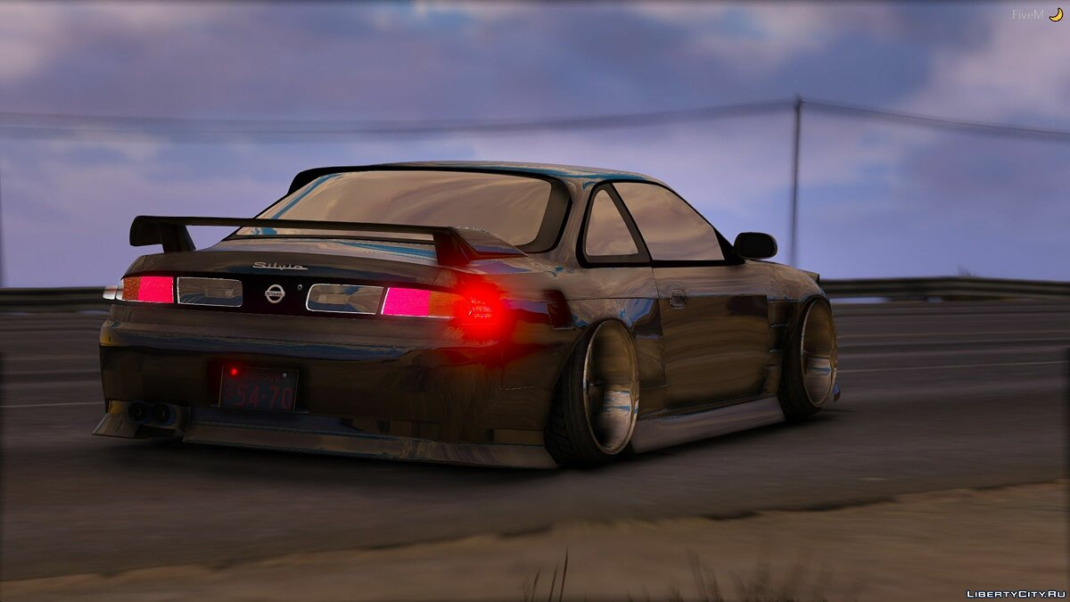 Nissan car 1994 Nissan 240sx S13 Front End [Add-On / Replace / RHD] 1.0 for GTA 5