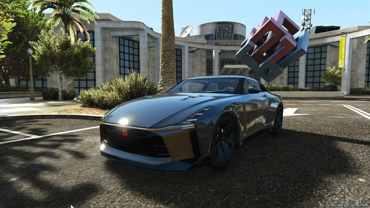 Nissan car Nissan GT-R50 Concept [Add-On] 1.0 for GTA 5