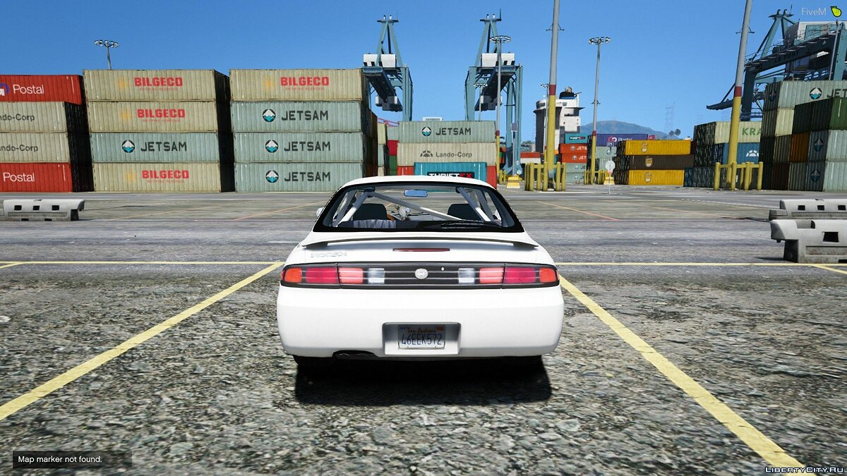 Nissan car Nissan S14 Street Car [FIVE-M] [REPLACE] 1.0 for GTA 5