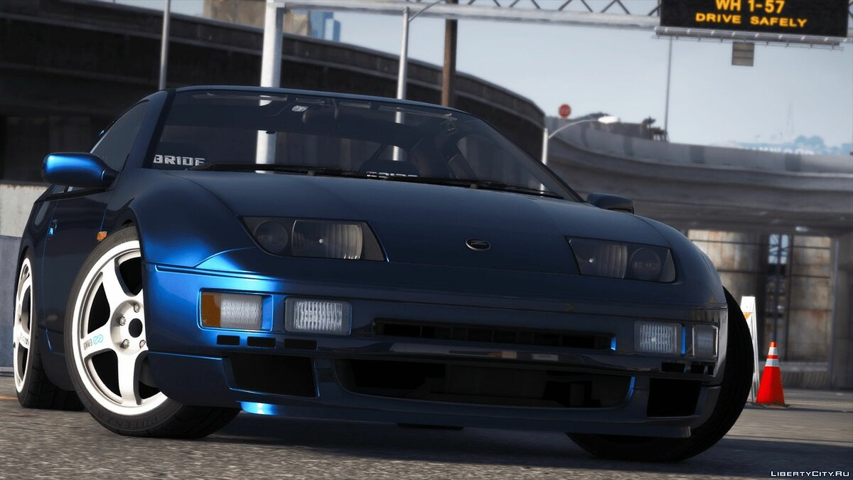 Nissan car Nissan 300ZX Z32 [Add-On | Tuning | RHD] 1.00 for GTA 5