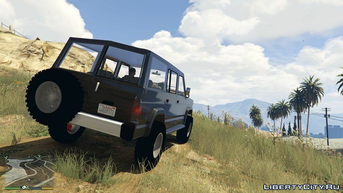 Nissan car Nissan Patrol V1 for GTA 5