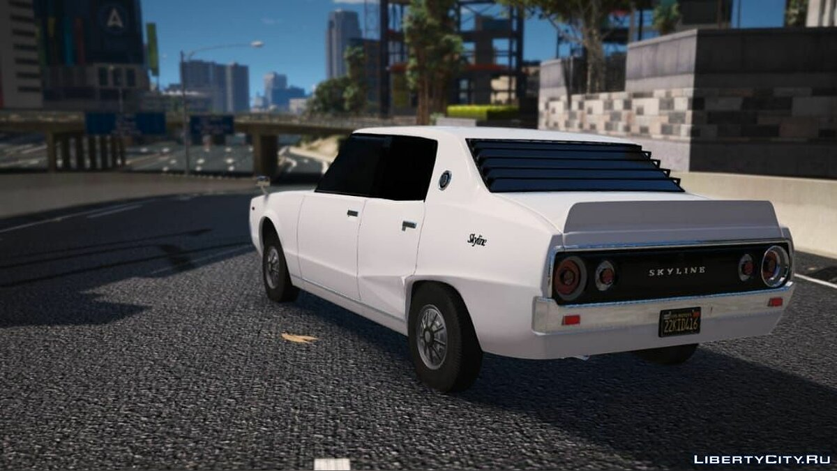 Nissan car Nissan Skyline 1977 for GTA 5