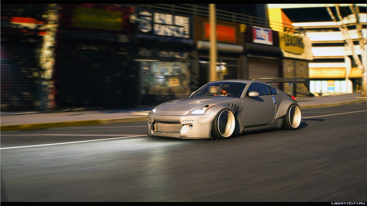 Nissan car Nissan 350z Z33 [Add-on] [Tuning] 1.0 for GTA 5