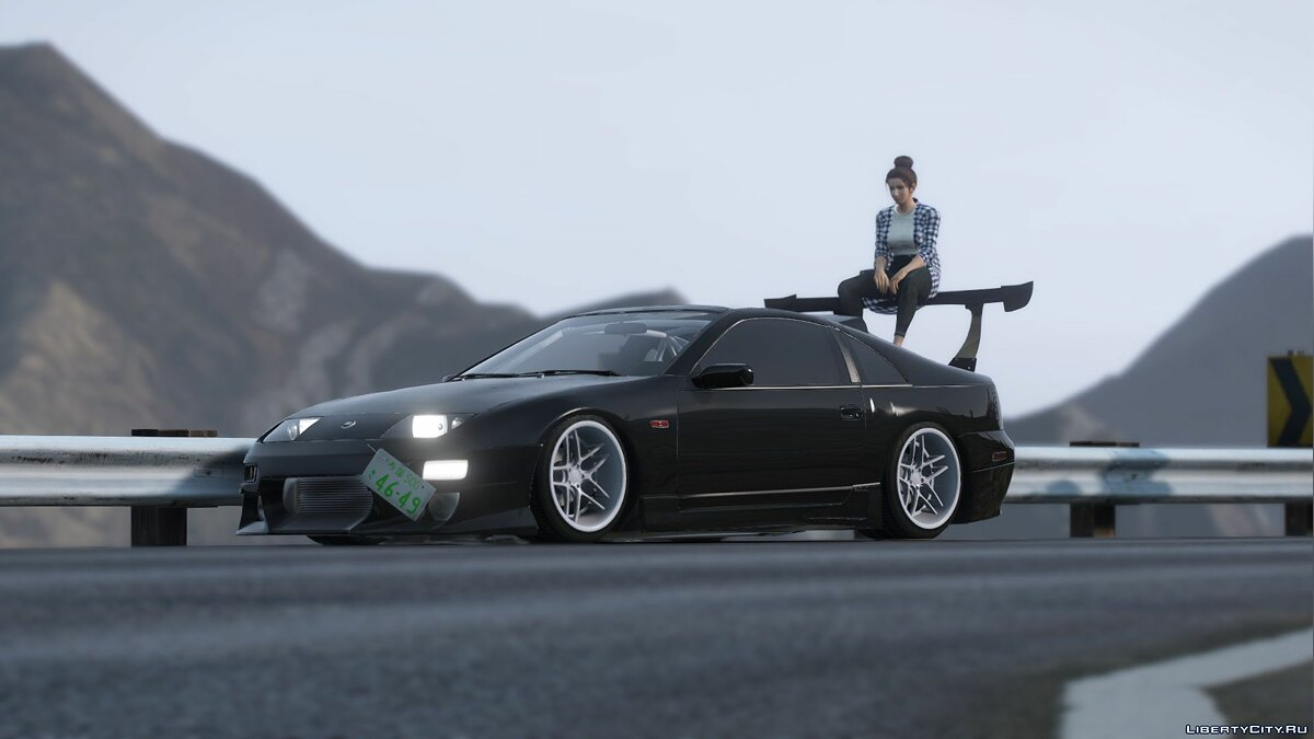 Nissan car Nissan 300zx Z32 [Add-on] [Tuning] 1.0 for GTA 5