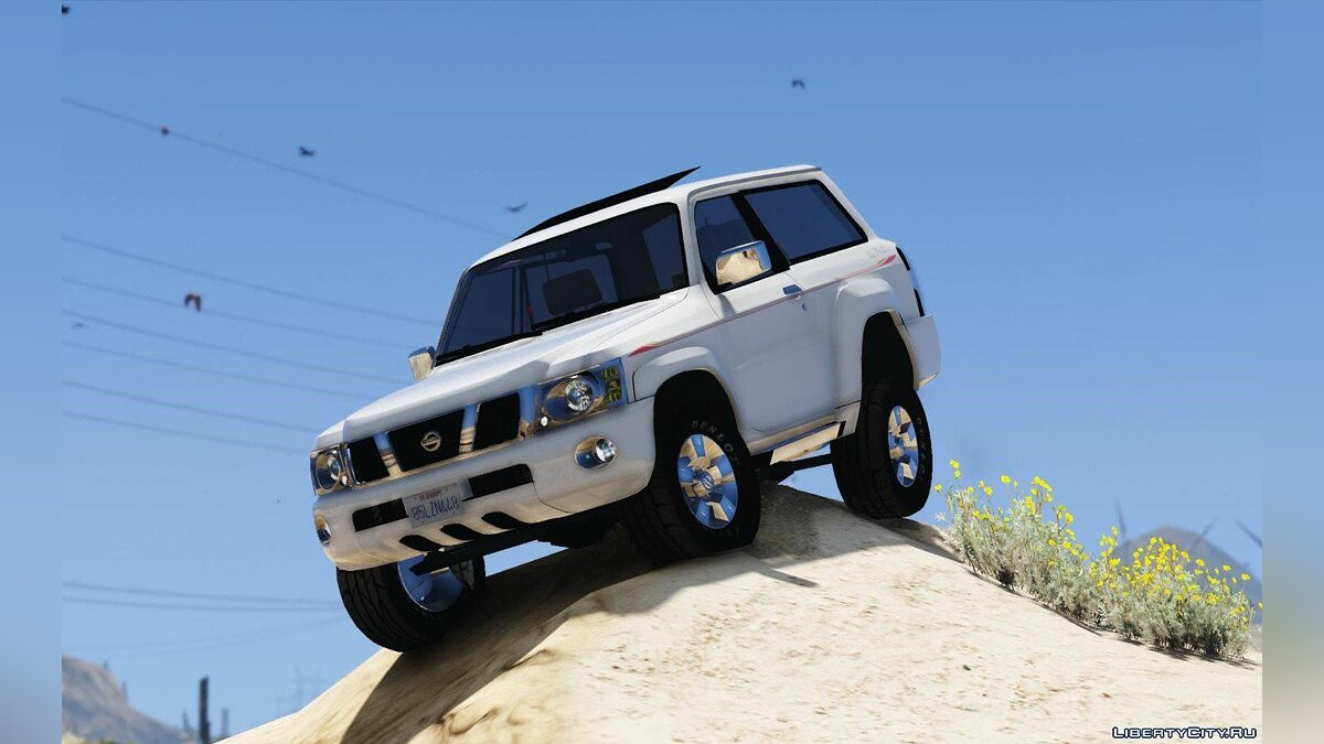 Nissan car Nissan Patrol Safari VTC 2016 3-door [Add-On | Replace | Livery | Extras | Template] 1.0 for GTA 5