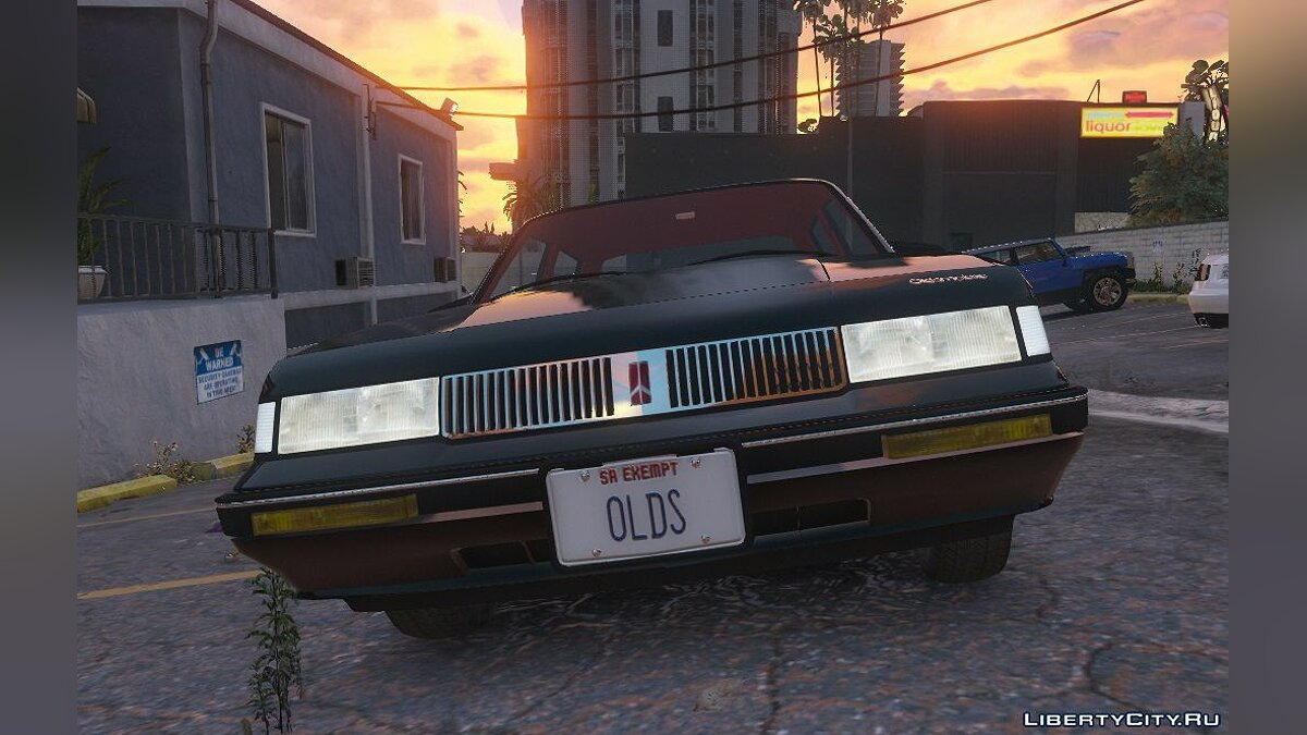 Oldsmobile car 1993 Oldsmobile Cutlass Ciera [Add-on] 1.0 for GTA 5