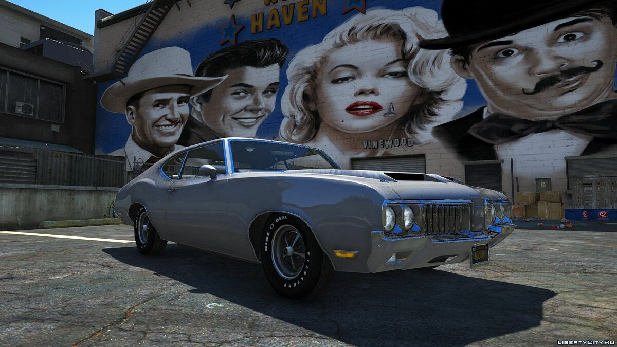 Oldsmobile car 1970 Oldsmobile 442 [Add-on version / Tuning] 1.0 for GTA 5