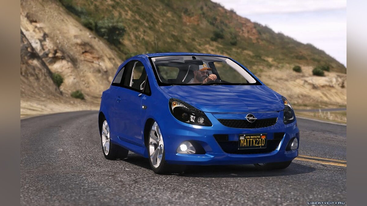 Opel car Opel Corsa D OPC [REPLACE / ADD-ON-TUNING] for GTA 5