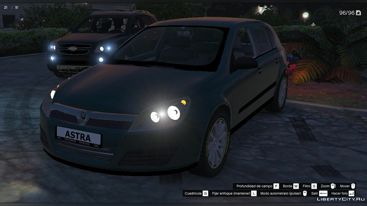 Opel car Opel / Vauxhall Astra 2004 Civil version [Replace] for GTA 5