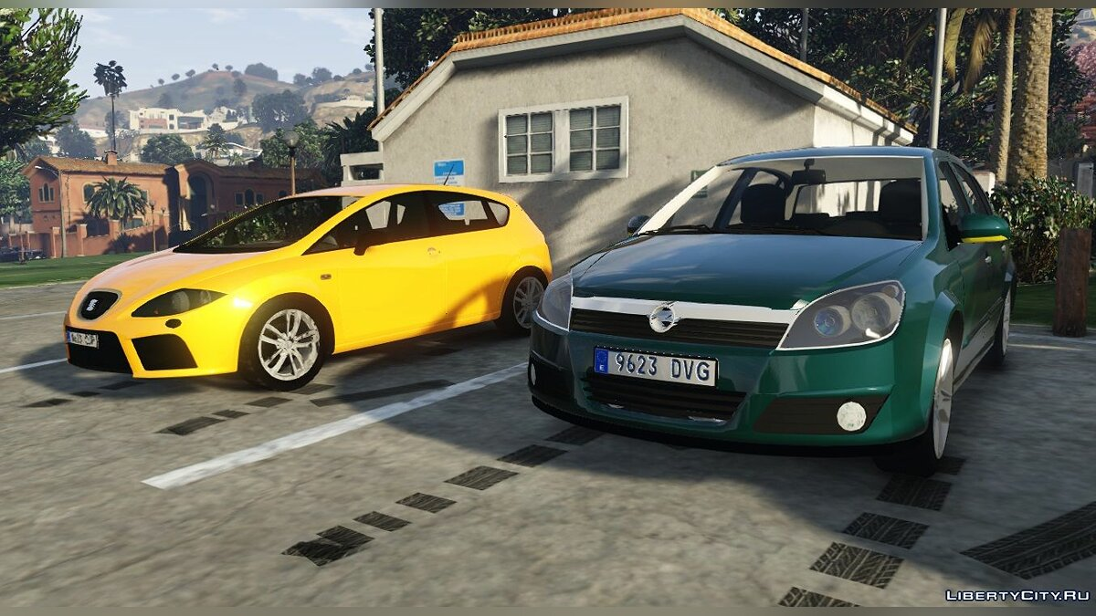 Opel car 2004 Opel Astra H CDTI Hatchback 5 doors [FiveM-Replace] 1.0 for GTA 5