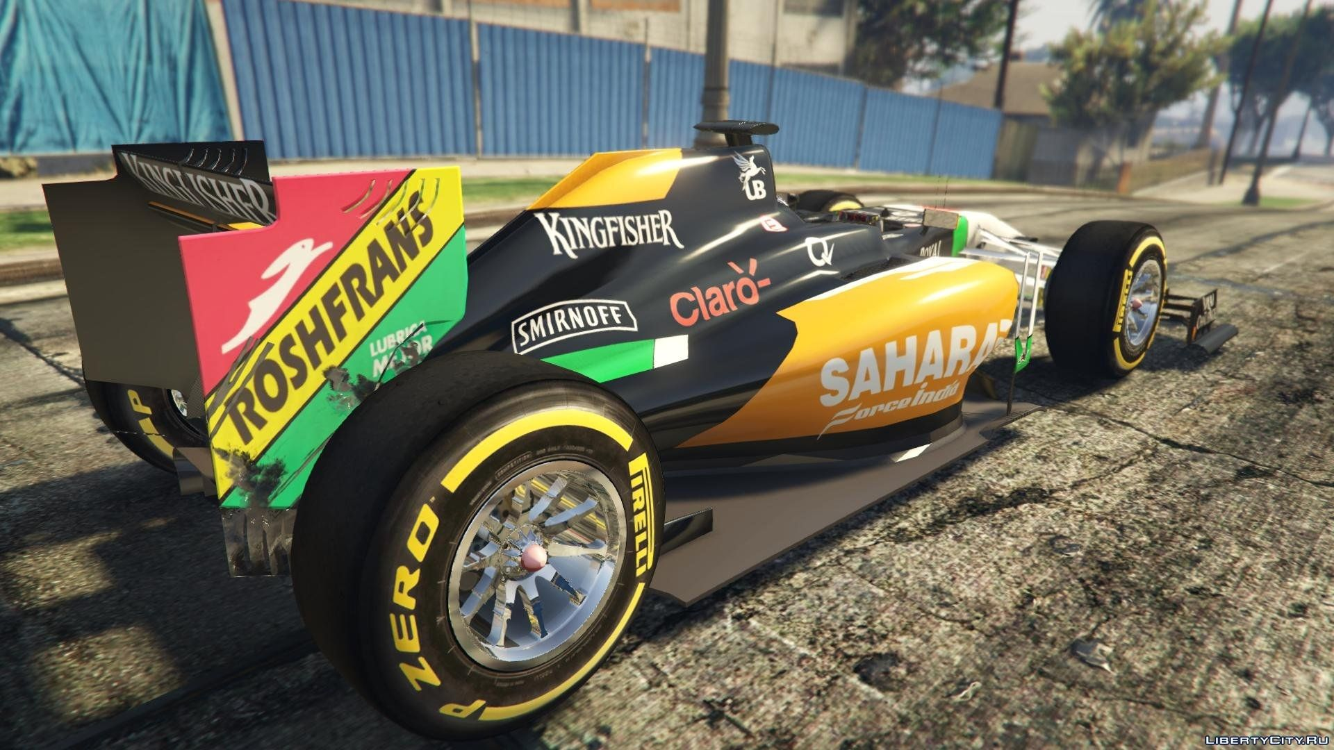 Force India2 F1 [+ Add-On] for GTA 5