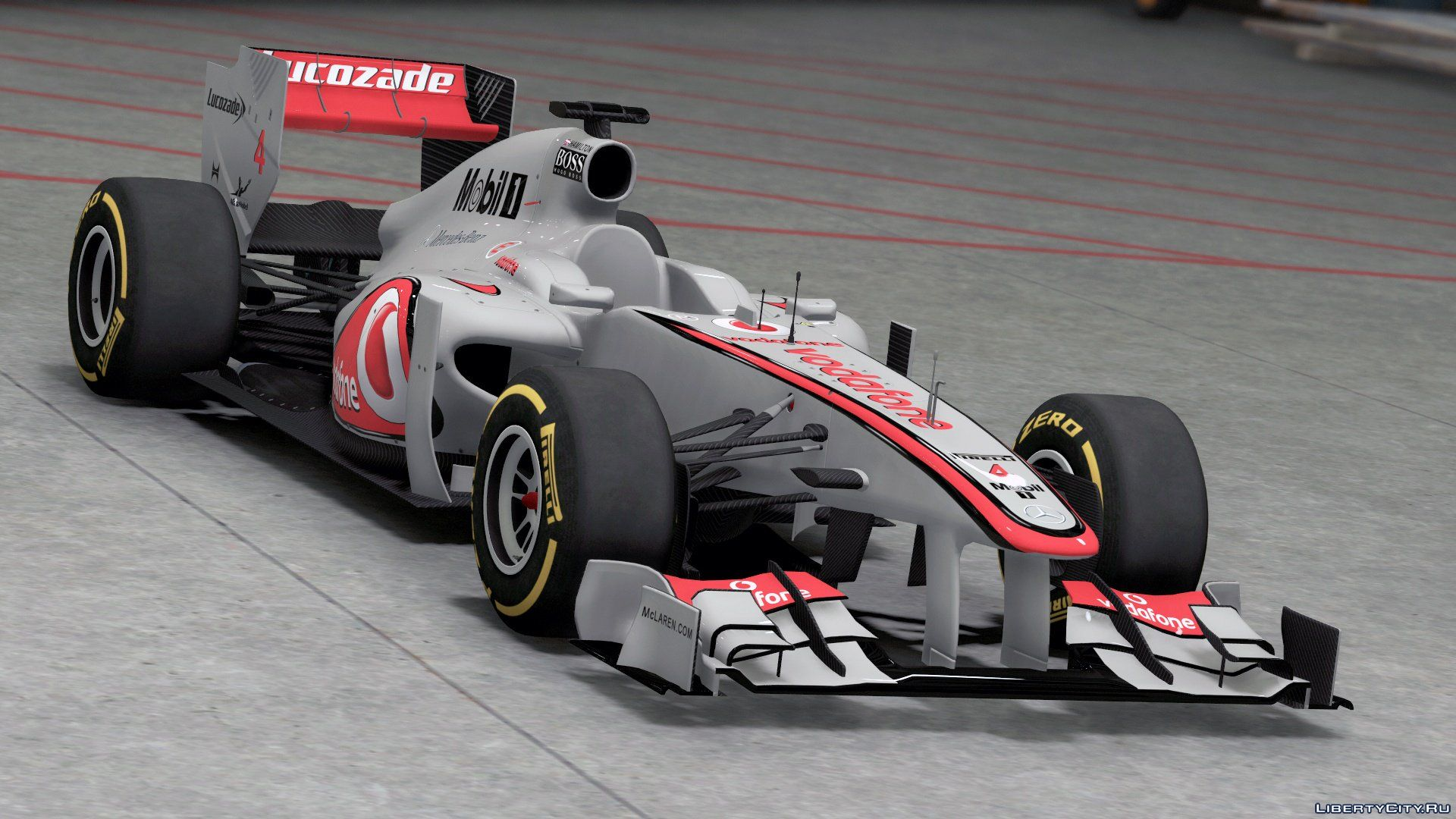 2011 FORMULA A F1 [Add-On / Replace | Liveries | Template
