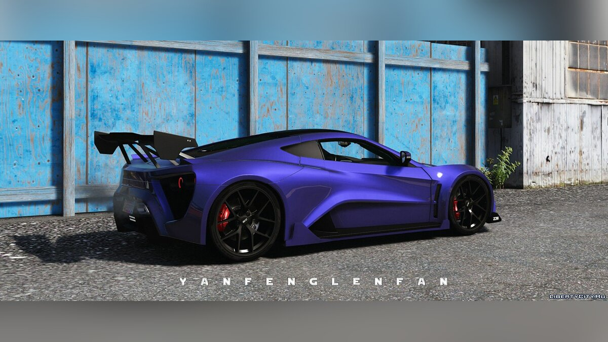 Other car 2018 Zenvo TS1 GT [Add-On   Animated Engine   Bodykits   HQ] for GTA 5