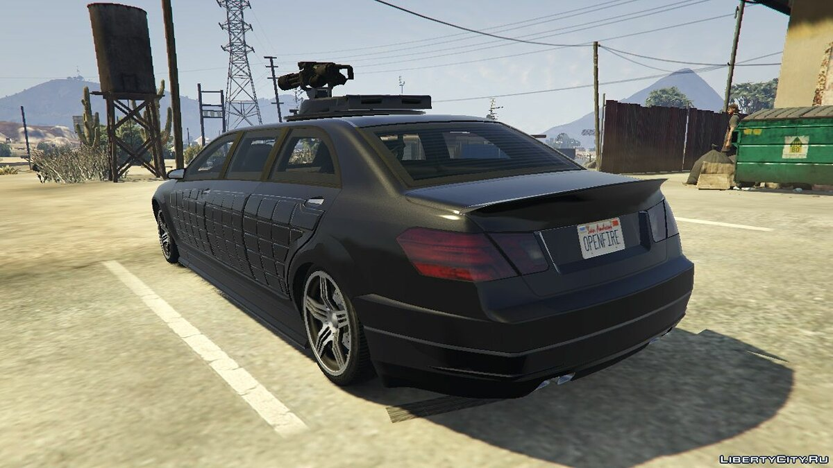 Other car Benefactor Turreted Limo Custom [Replace] 1.0 for GTA 5