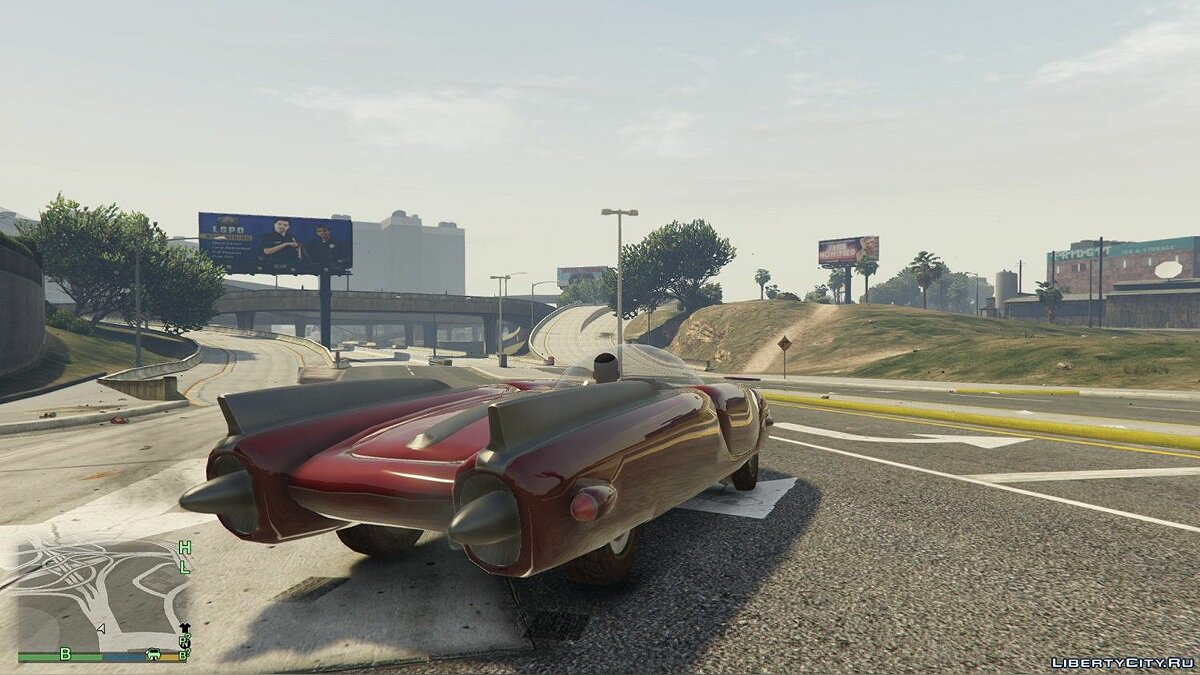 Other car Спорткар из Fallout 4 [replace/unlocked] v2.0 for GTA 5