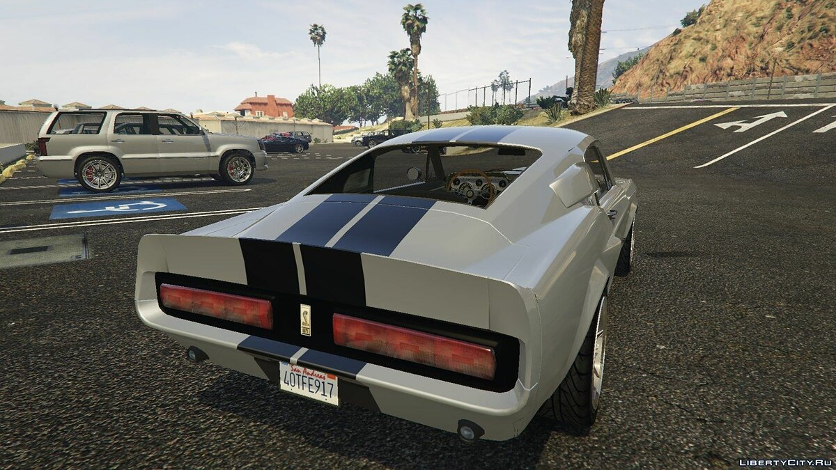 Other car 1967 Shelby Mustang GT500 Eleanor for GTA 5