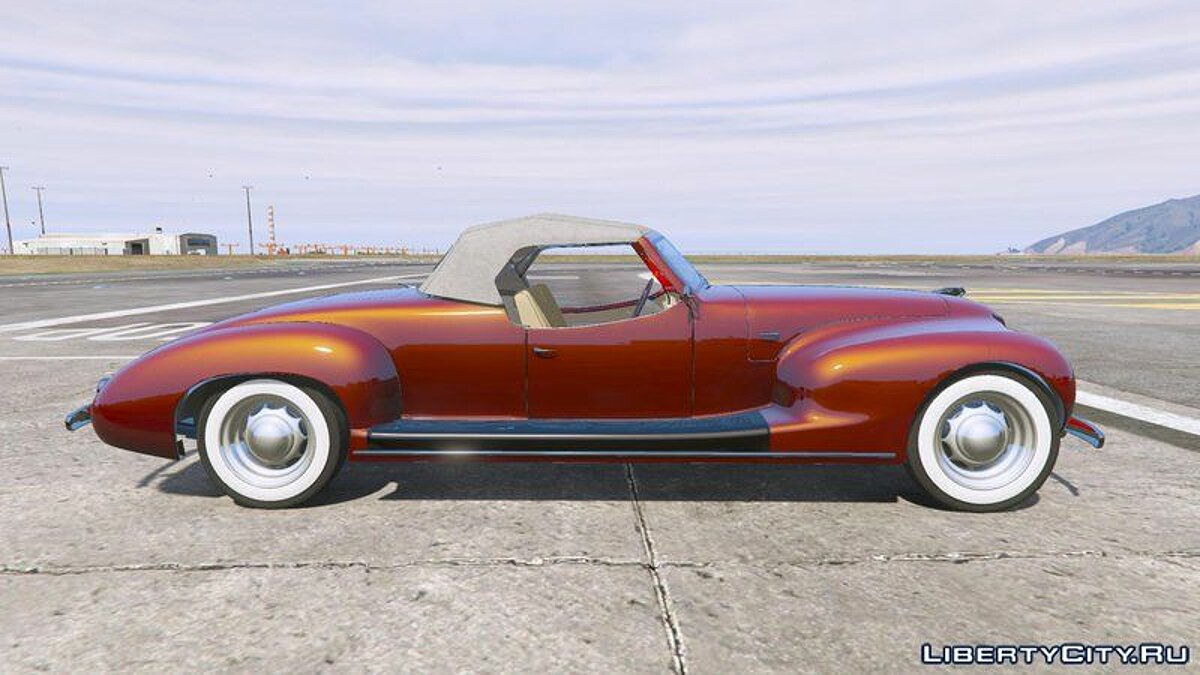 Other car Zis 101a Sport 1938 [Add-On] for GTA 5