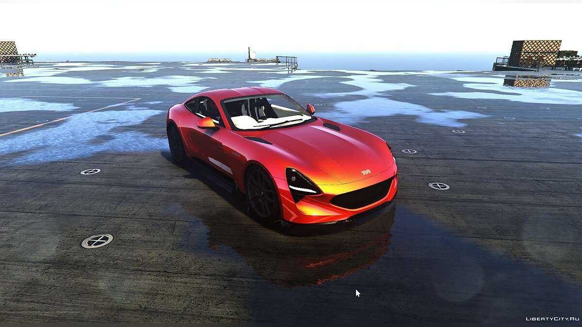 Other car TVR Griffith 2019 1.0 [Add-On] for GTA 5