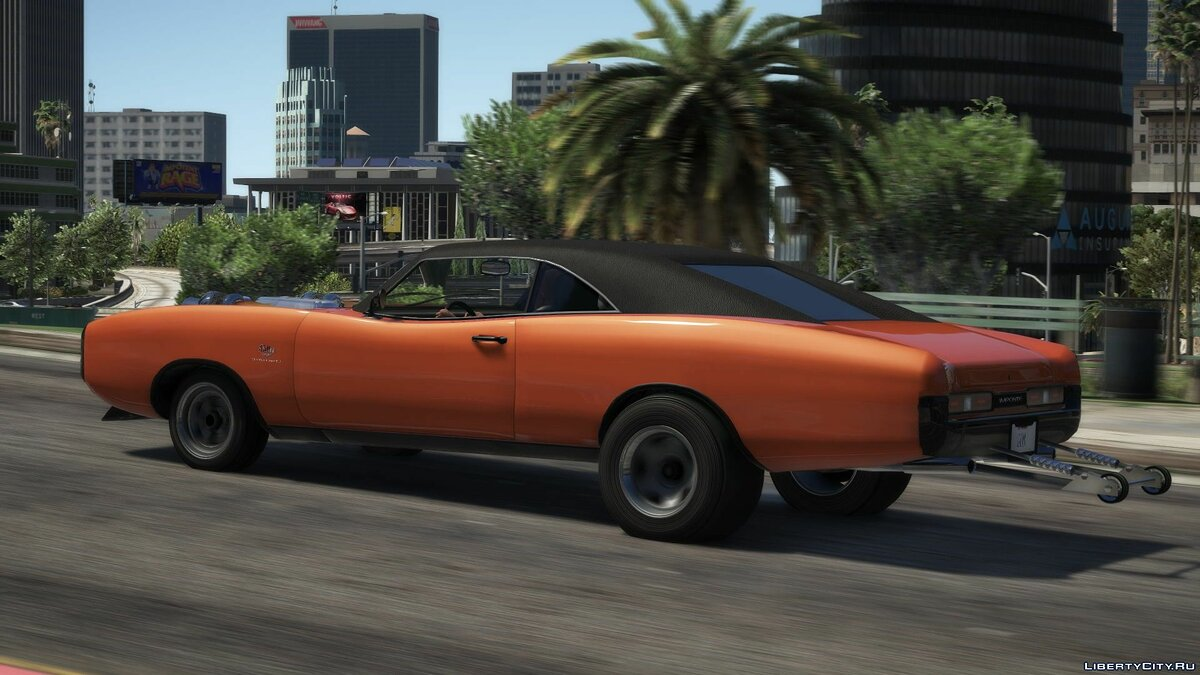 Other car Imponte Dukes Drag [Replace] 1.1 for GTA 5
