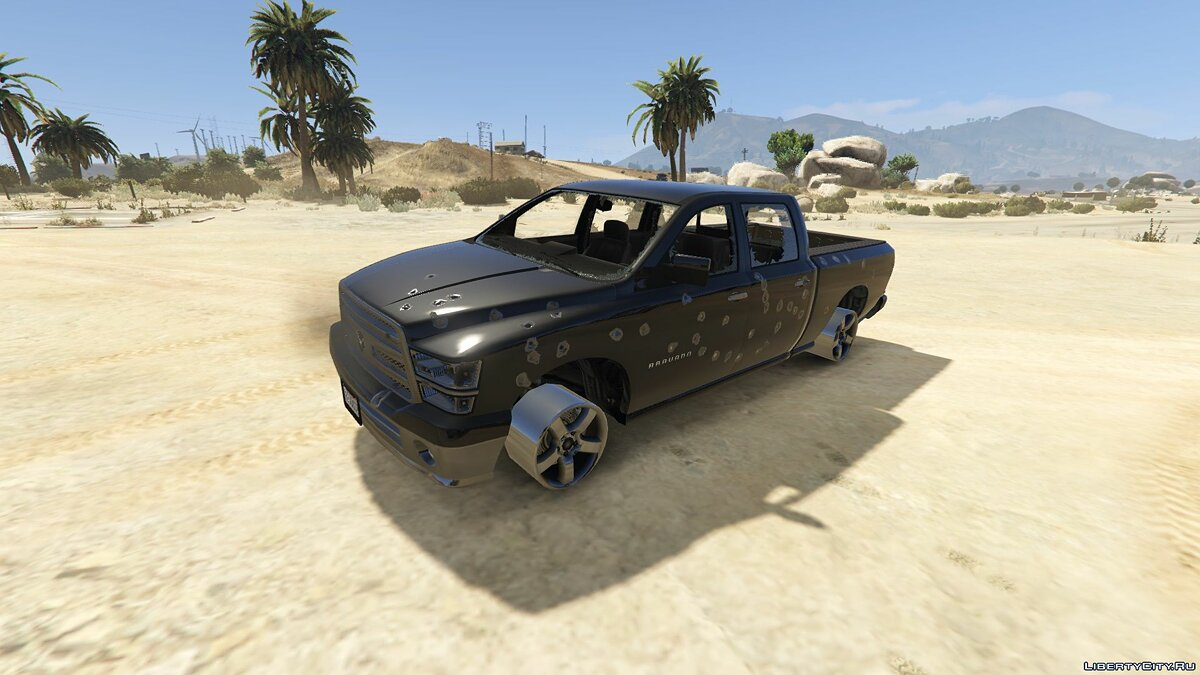 Other car Bravado Bison [Add-On Replace Extras] 1.1 for GTA 5