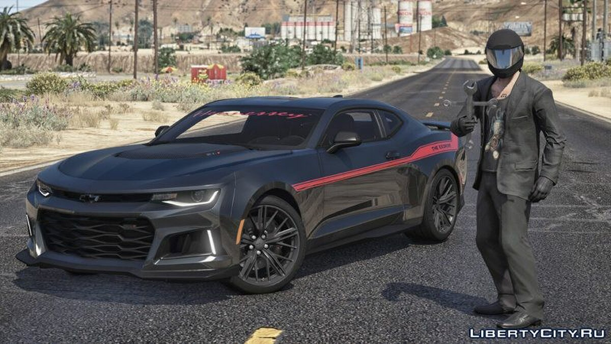 Other car 2017 Hennessey Camaro Exorcist ZL1 for GTA 5