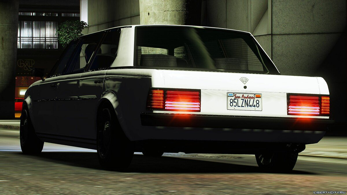 Other car Benefactor Stretch E Classic [Add-On] 1.0 for GTA 5